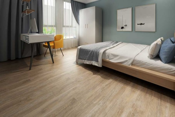 102725l Fashionable Luxury Vinyl Floor For Bedroom