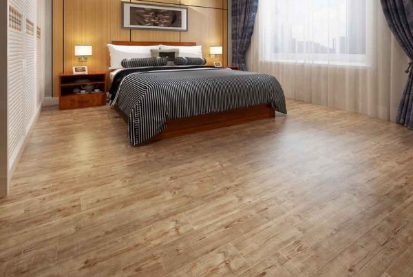 102769 Long Lifespan And Fire Retardant Spc Floor For Hotels
