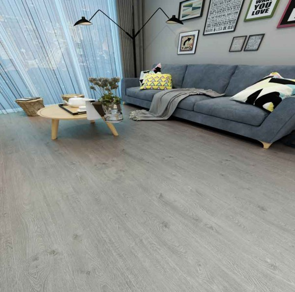 102776 Comfortable Color Wood Grain Spc Vinyl Plank